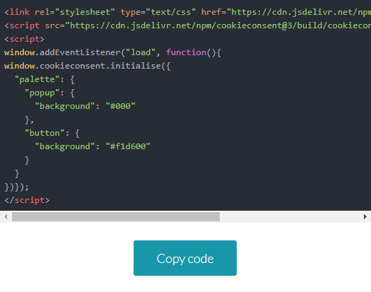 7. Code - How to add a cookie consent in WordPress
